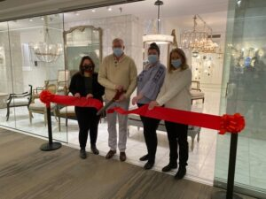 Michael-Cleary Showroom at Design Center at theMART Expansion Ribbon Cutting